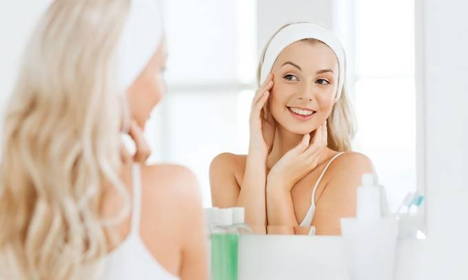 Chăm sóc da mặt trong mùa nóng