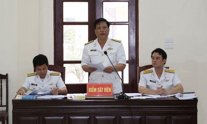 Đô đốc Nguyễn Văn Hiến bị đề nghị phạt 3-4 năm tù