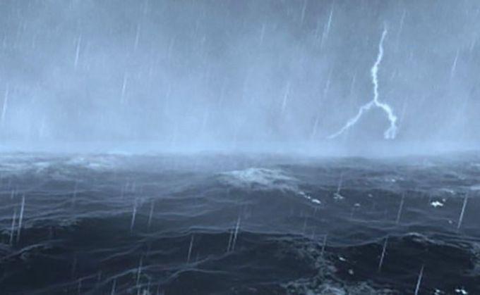 Tại sao lượng mưa trên biển ít hơn đất liền?