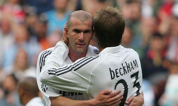 Beckham: 'Được Zidane cảm ơn là điều tuyệt vời nhất'