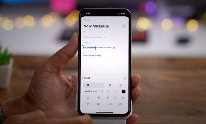 Lỗi ứng dụng Mail ảnh hưởng đến mọi iPhone