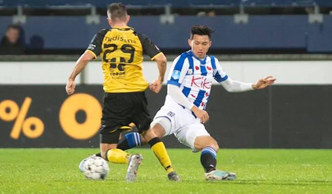 Heerenveen phải giữ nguyên lương cho Đoàn Văn Hậu