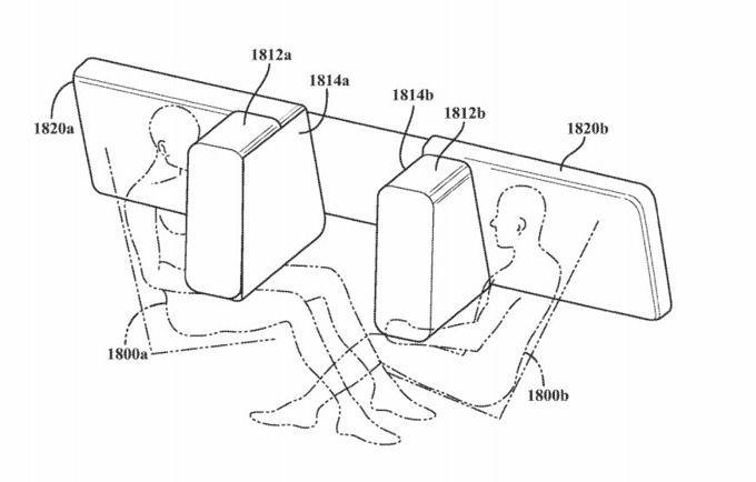Apple được cấp bằng sáng chế ghế ngồi trên xe tự lái
