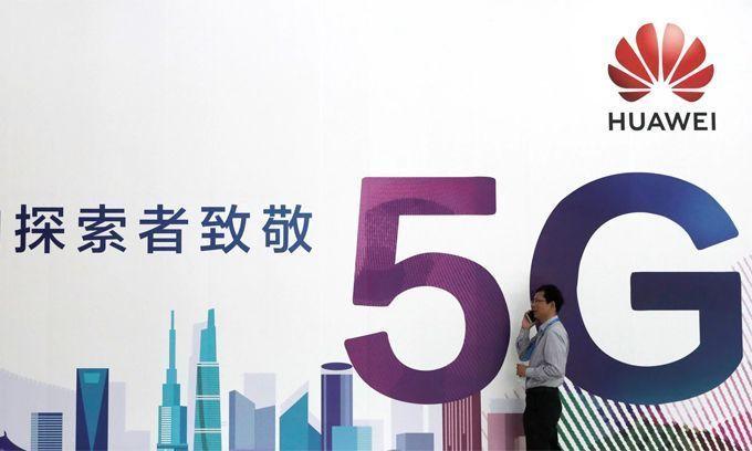 Anh xem xét loại thiết bị 5G của Huawei
