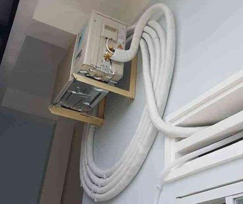 Lắp dây nối điều hòa dài có ảnh hưởng gì?