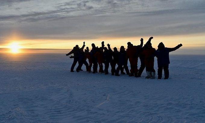 'Hoàng hôn cuối cùng ở Nam Cực'