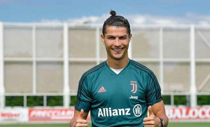 Ronaldo chưa được tập cùng đồng đội