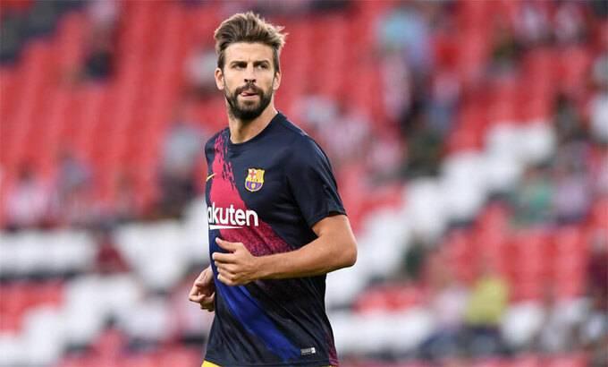 Pique phản đối trao chức vô địch cho Barca