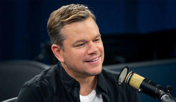 Matt Damon kể chuyện tránh dịch